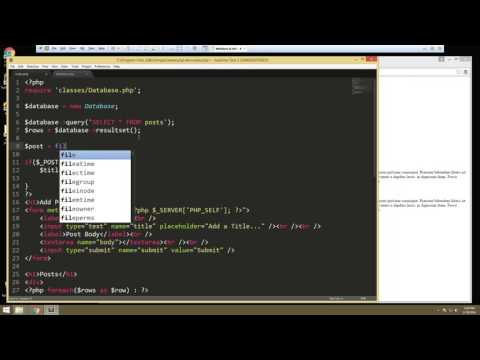Learn How to Create a Database using PHPMyAdmin and OOP - Part 4