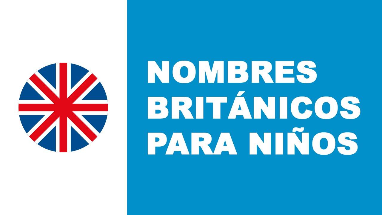 Nombres británicos para niños - los mejores nombres de bebés - www.nombresparamibebe.com