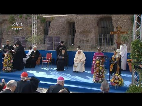 Prière et rencontre pour la Paix organisée par Sant'Egidio