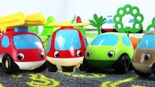 Видео для детей - Маленькие машинки - Сборник мультиков