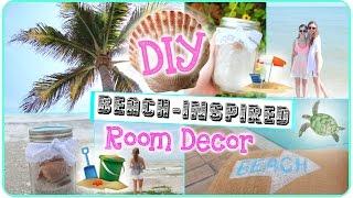 DIY Beach-Inspired Room Decor