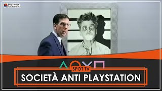 PlayStation - S.A.P.S. Società Anti PlayStation - Spot TV Italia (1995)