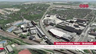 Streckenausbau Wien - Bratislava