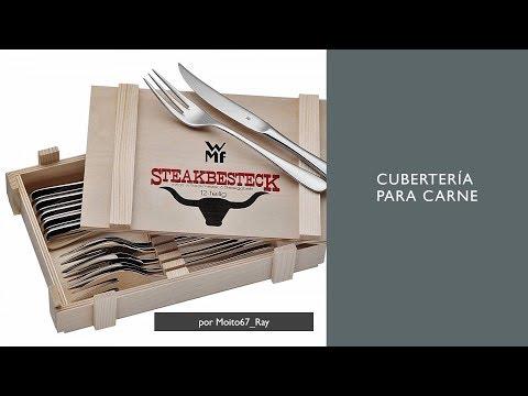 Cubertería para Carne Monobloque de Acero Inoxidable, WMF Steak