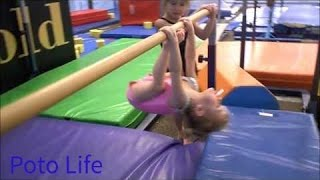 2 Year Old Gymnast!  Baby Gymnastics and Amazing Skill
