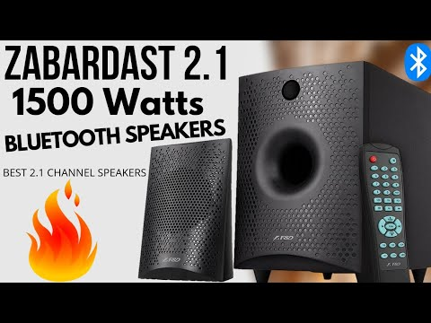 F&D F210X Bluetooth Speakers | Best 2.1 Home Theater System
