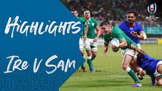 Highlights: Ireland v Samoa - Rugby World Cup 2019