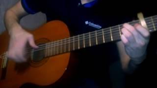 В. Цой (Кино) - Группа крови (аранжировка на гитаре)