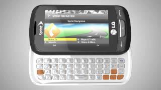 Sprint LG Rumor Reflex™ cell phone
