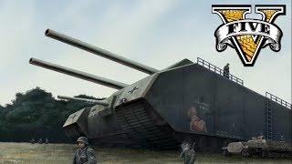 P1000 Ratte Tank WW2 Mega Tank