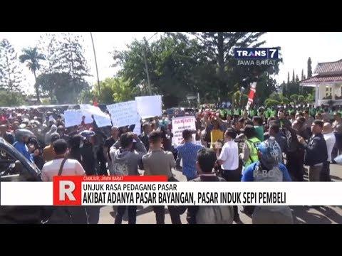 Ribuan Pedagang Pasar Tagih Janji Bupati Cianjur
