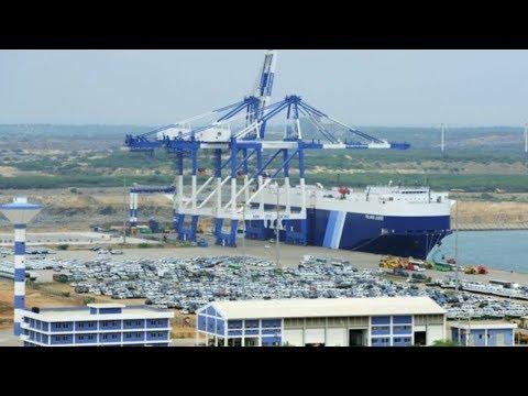 Hambantota Port: Joint venture between China and Sri Lanka begins operations