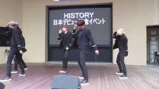 150718 HISTORY 『Psycho』@LaQua Garden Stage