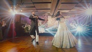Best Surprise Dance Performance Bride & Groom | Natasha & Jaspreet's Wedding (Indian)