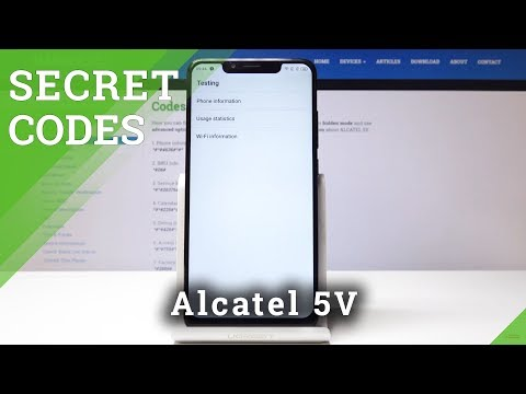 Secret Codes Alcatel U5 Tricks Hidden Mode Secret Options