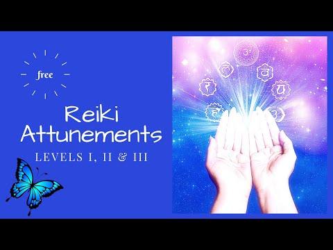Free Reiki Attunements: Levels I, II & III - YouTube