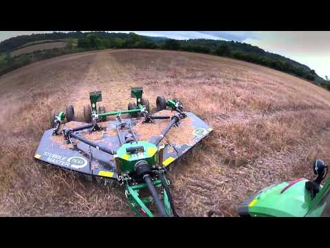 The Spearhead Stubble Master  Rotary Mower