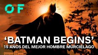 'BATMAN BEGINS' así creó NOLAN al hombre murciélago más REALISTA del cine