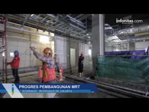 Progres Pembangunan MRT