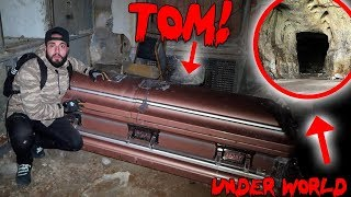 I TUNNELLED INTO THE UNDERWORLD & FOUND TOMS HAUNTED COFFIN! | MOE SARGI