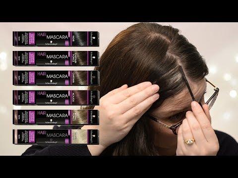 Schwarzkopf Hair Mascara Demo & Review | CORRIE SIDE