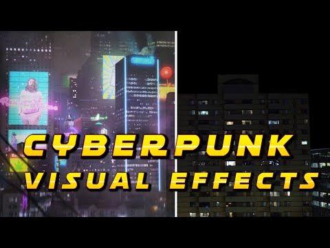 Creating a Cyberpunk City: VFX Breakdown
