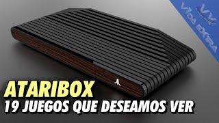Ataribox: 19 juegos imprescindibles para la nueva consola de Atari