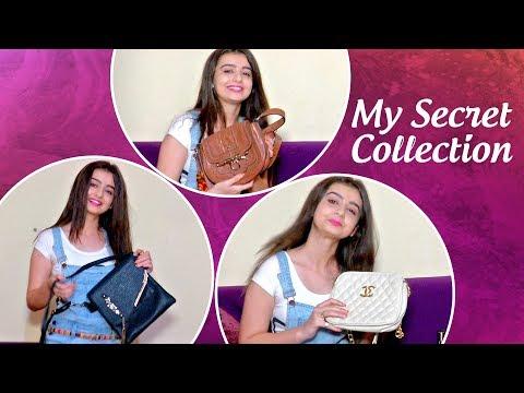 Chahat Pandey Aka Meher REVEALS Her BAG Collection | Aladdin Naam Toh Suna Hoga