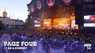 Page Four '17 år' & 'Sommer' live fra The Voice '16