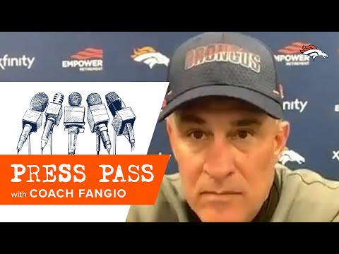 Fangio: Team showed great fight in loss vs. Steelers