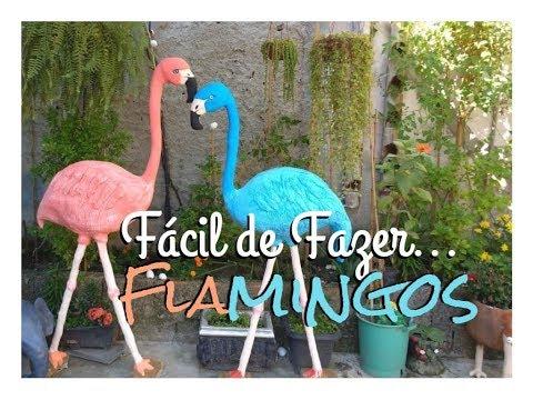 Flamingos para Jardins