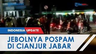 Ribuan Pemudik Motor Jebol Pos Penyekatan Puncak-Cianjur dan Lakukan Provokasi, Kapolres Buka Suara