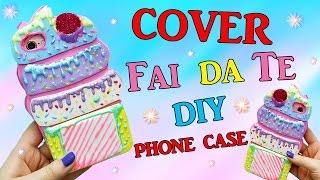 FACCIAMO Una COVER KAWAII ! DIY COVER CUPCAKE FAI DA TE ✿