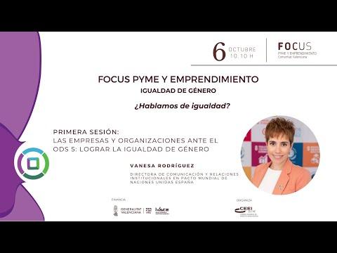 Las empresas y organizaciones ante el ODS 5: lograr la igualdad de género-Focus Pyme Igualdad de Género[;;;][;;;]