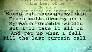 Christina Aguilera - Best Of Me with Lyrics