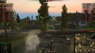 Matilda Action on the Mines Map in World of Tanks 10 KILLS