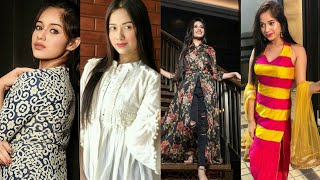 Jannat Zubair Pics In Indian Dresses Collection By Nours Design