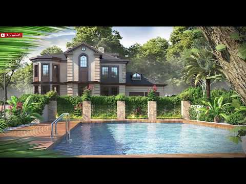 3ds max & vray exterior visualization tutorial Part_1