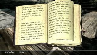 Let's Read The Legend of Red Eagle (Let's Read The Books of Skyrim, Book 32)