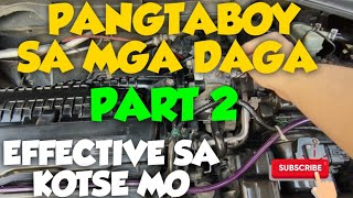 HOW TO PREVENT MOUSE / RODENT DAMAGE CAR WIRING USING BLACK PEPPER - PART 2