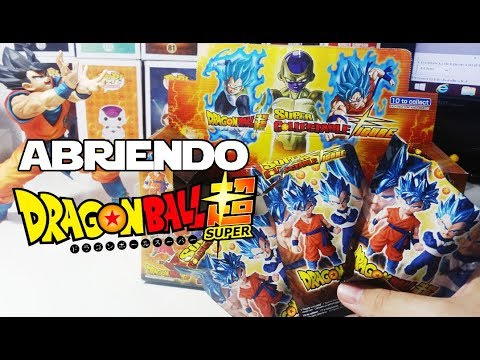 Dragon Ball Super Collectable Figure - Abriendo Sobres - Unboxing