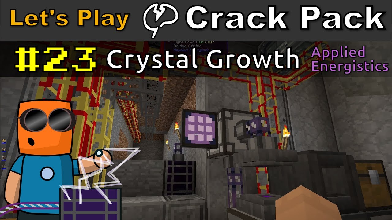 Minecraft - CrackPack #23 | Crystal Growth with Applied Energistics