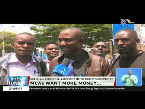 MCAs squeeze more from Kenyans as they demand for a salary increase
