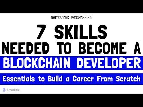 7 Skills Needed to Become a Blockchain Developer   Blockchain Developer Career Path