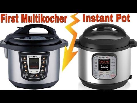 Instant Pot | First Multikocher | der Vergleich
