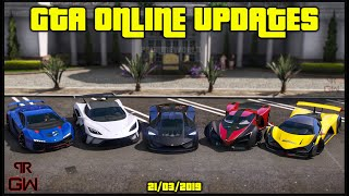 GTA 5 Online - New DLC , New Cars ?, Discounts & Double Money modes - Weekly Updates 2019