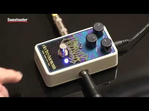 Electro-Harmonix Octavix Fuzz/Octave Up Pedal Review by Sweetwater Sound