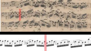BWV 1007 - Cello Suite No.1 (Scrolling)
