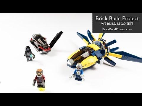 Vidéo LEGO Marvel Super Heroes 76019 : Le combat du Starblaster