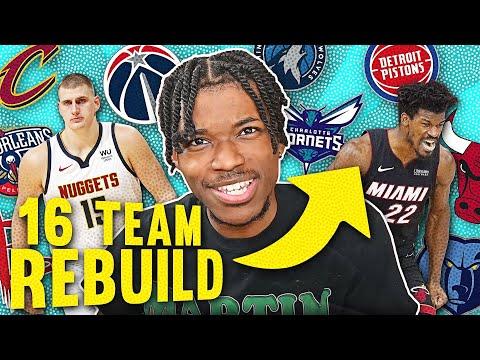 I REBUILT 16 NBA TEAMS… at the same time